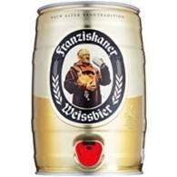 Franziskaner Hefe-Weißbier 5,0 L Partyfass