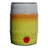 Bierschaumoptik 5,0 l Partyfass leer