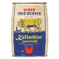 Gold Ochsen Kellerbier 5,0 l Partyfass
