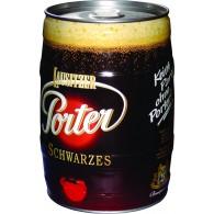 Lausitzer Porter Schwarzbier 5l Partyfass