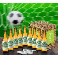 Bierbox Fußball 9 Flaschen 0,33l