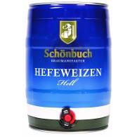 Schönbuch Hefeweizen Hell 5,0 l Partyfass