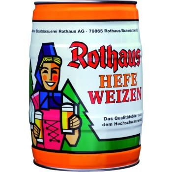Rothaus Hefeweizen 5 L Partyfass