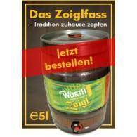 Brauerei Würth Zoigl 5,0 l Partyfass