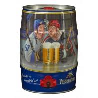 """Veldensteiner Pils """"Eishockey"""" 5,0 l Partyfass"""