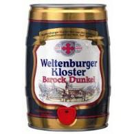 Weltenburger Barock Dunkel 5,0 l Partyfass