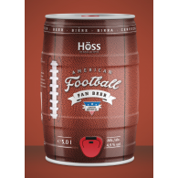 Brauerei Höss - American Football Limited Edition 5,0 l Partyfass