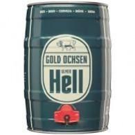 Gold Ochsen Hell 5,0 l Partyfass