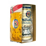 Paulaner Oktoberfestbier Krug + Dose 1 L