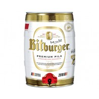 Bitburger Pils WM Sonderedition 5,0 L Partyfass