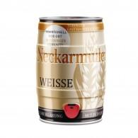 Fischers Neckarmüller Weisse 5,0 L Partyfass