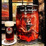 """Füchschen Altbier """"Lust zu Füchseln""""  5,0 l Partyfass"""