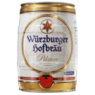Würzburger Hofbräu Pilsner 5,0 l Partyfass